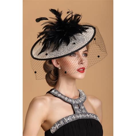 womens vintage sinamay fascinator linen hair pillbox