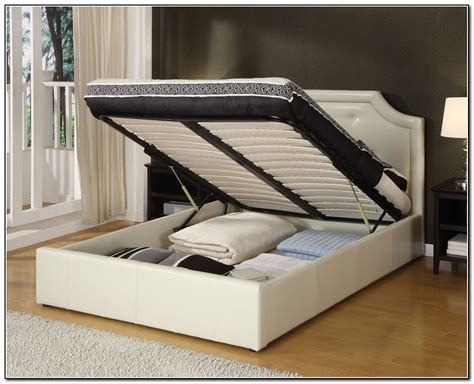 Storage Frame Bed King Size Bed Frame Platform Also With Storage Frames Awesome Interalle