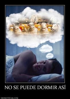 josefina no puede dormir desmotivaciones ovejas