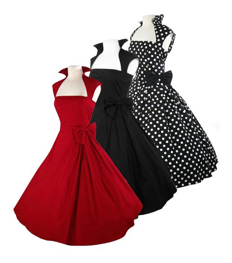 retro 50 s rockabilly swing pinup vintage cocktail prom