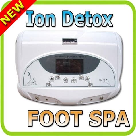 Turn Cellular Detox by Foot Spa Dtoxa Cell Dtoxa Cell Dual Ion Ionic Detox Foot