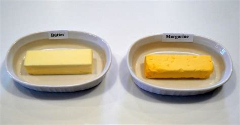butter or margarine better margarine vs butter it s a no brainer that s bad for you