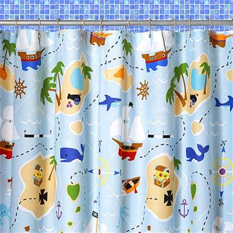 treasure map shower curtain olive kids bedding pira shower curtain of pirates by olive
