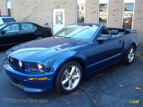 california special mustang 2008 2008 ford mustang gt cs california special convertible in