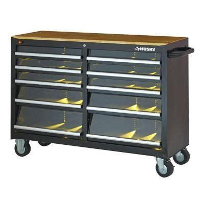 Husky 46 9 Drawer Mobile Work Center by 25 Best Ideas About Husky Workbench On Garage