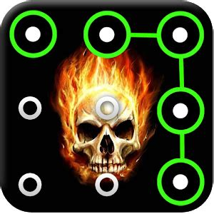 pattern password for kindle fire app skull pattern screen lock apk for kindle fire
