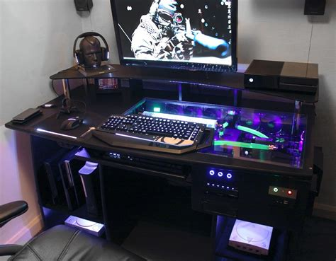 Custom Gaming Desk Custom Gaming Computer Desk Personal Space