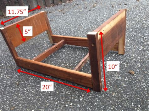 diy american doll bed two it yourself diy doll bed for american from scrapwood