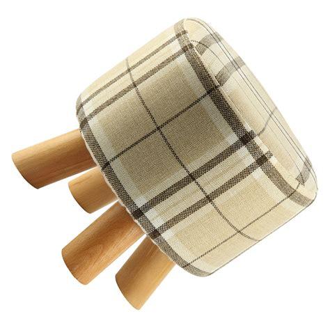 melkstuhl holz v316 moderner luxus gepolstert schemel runde pouffe hocker