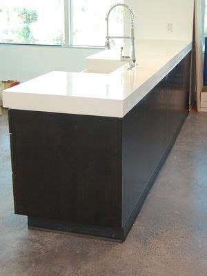 how to clean stained white corian sink the 25 best polished concrete countertops ideas on