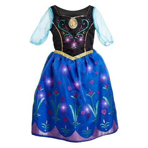frozen light up dress disney frozen anna musical light up dress size 7 8