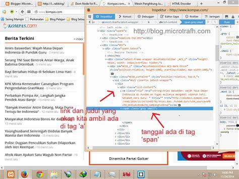 tutorial tentang blogger tutorial tentang bagaimana cara mengambil data grabbing