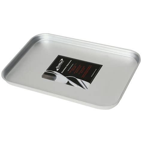 Oven Aluminium genware aluminium oven baking sheet 37 x 26 5 x 2cm baking tray aluminium bakeware buy at