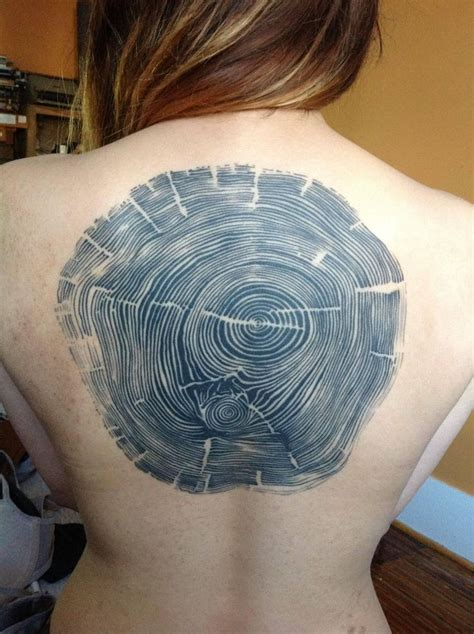 tree ring tattoo the world s catalog of ideas