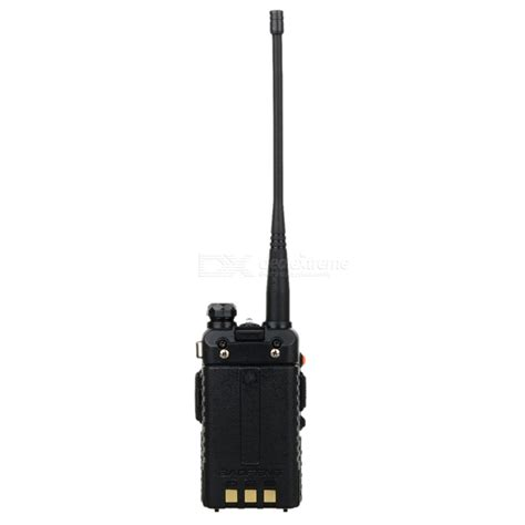 Lcd Uv5r 1 baofeng bf uv5r 1 5 quot lcd 5w 128 ch uv dual band walkie talkie black free shipping dealextreme