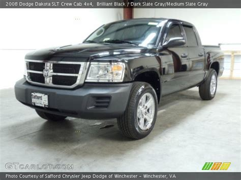 2008 dodge dakota slt crew cab 4x4 in bright silver metallic 519104 nysportscars com cars brilliant black 2008 dodge dakota slt crew cab 4x4 dark slate gray medium slate gray