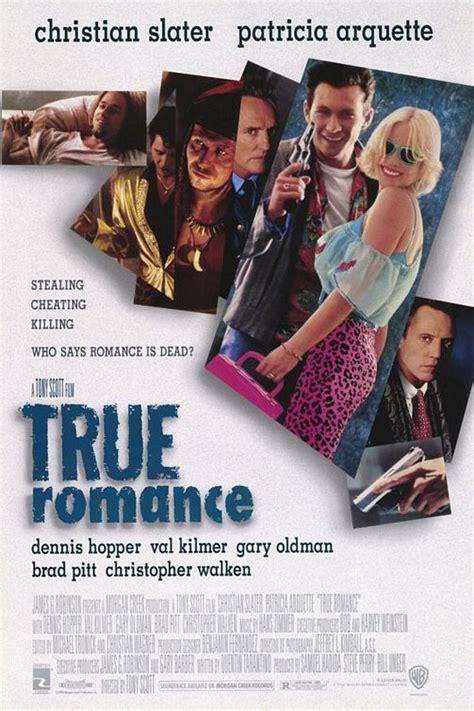 film romance imdb true romance movie poster 1 of 2 imp awards