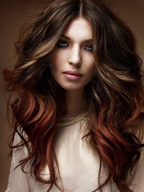 chocolate red hair on pinterest red blonde highlights chocolate brown hair with red highlights beauty basics