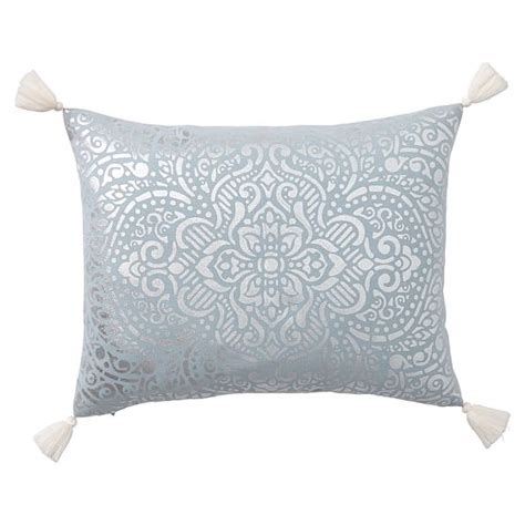 Medallion Pillow Covers by Metallic Medallion Pillow Covers Pbteen