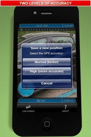 locate your mobile forgot where you parked locate your lost car using these
