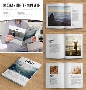 Print Magazine Templates by 20 Magazine Templates With Creative Print Layout Designs