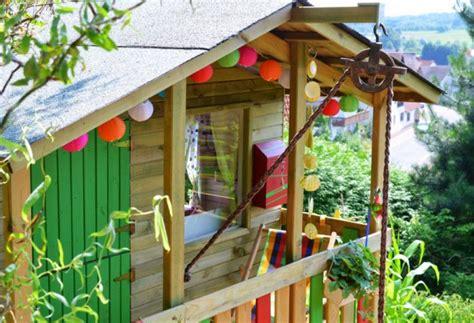 kinderspielhaus im garten tipps zur einrichtung amp dekoration