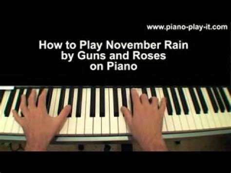 free mp3 download of november rain by guns n roses november rain piano tutorial guns roses guns n roses