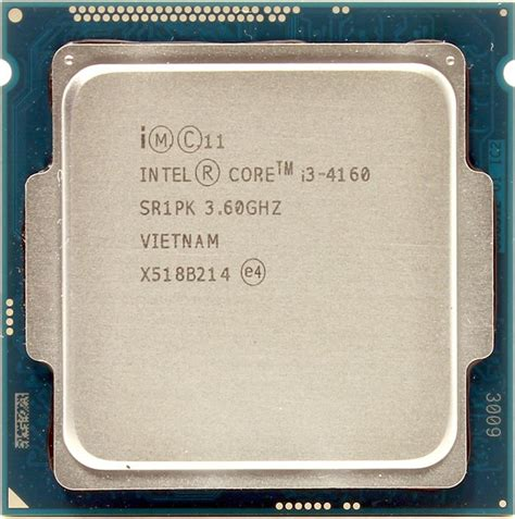 Processor Intel I3 4160 Lga 1150 Box intel i3 4160 processor box