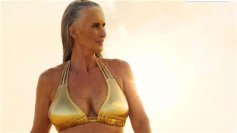 56 year old women style sports illustrated features 56 year old model in annual