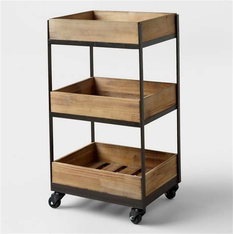 rolling storage with drawers rolling carts with drawers wood ikea rolling cart