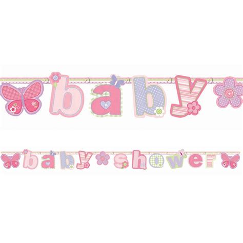 Baby Shower Banner by Baby Shower Banners Personalized Banners For Baby Showers