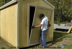 how to build a shed door icreatables