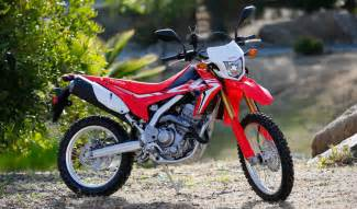honda 250l impression 2017 honda crf250l and 250l rally dirt bike test