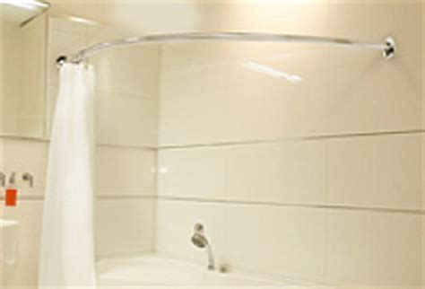 corner bath shower rail bathroom shower curtain rail 187 bathroom design ideas