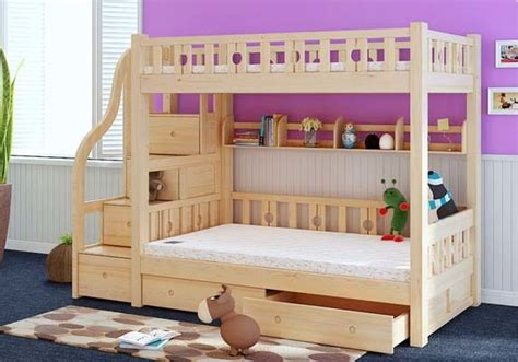 children bunk bed wooden 2 floor ladder ark china simple style wooden bunk bed with ladder ark m