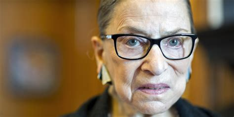 ruth bader ginsburg thinks this justice is responsible for