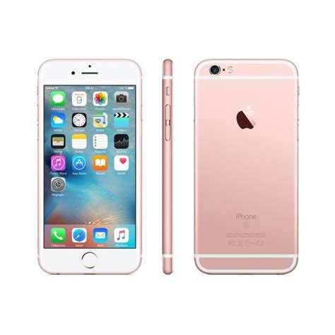 iphone  gb rose gold unlocked   cell phones
