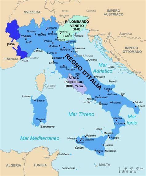 d itala mappa riguardante il regno d italia all atto della sua