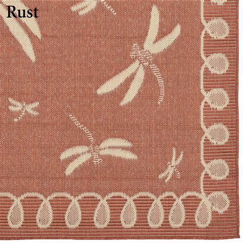 Dragonfly Outdoor Rug Dragonfly Flight Indoor Outdoor Rug Runner By Liora Manne