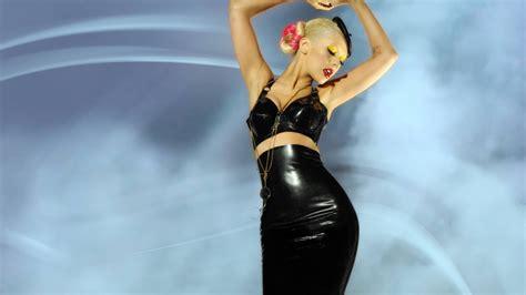 wallpaper leather girl full hd wallpaper christina aguilera blonde stylish