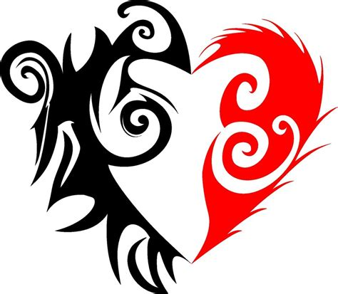tribal heart by romulo1995 on deviantart