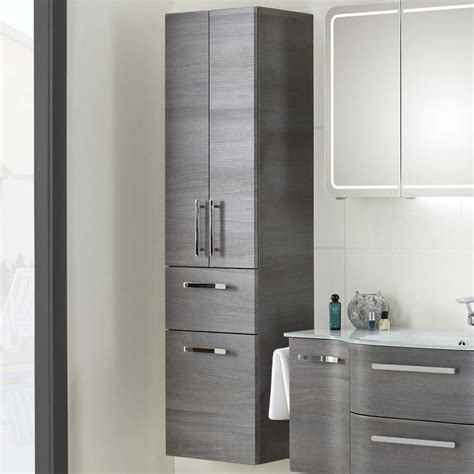 bathroom cabinets tall boy tall bathroom cabinets white gloss 400mm vanity units