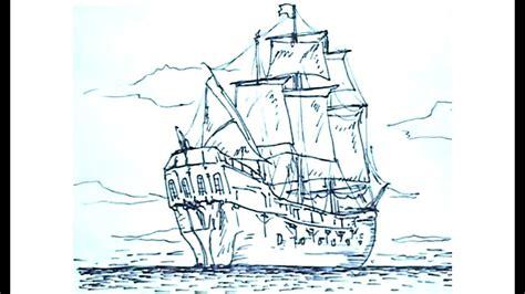 barco dibujo aprender a dibujar c 243 mo dibujar un barco pirata pirate