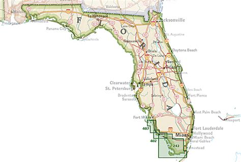 florida trail maps trails illustrated florida national geographic maps