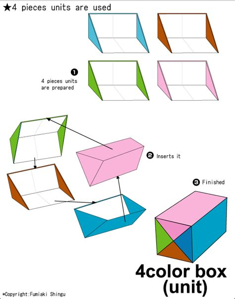 Information On Origami - origami club box found here info