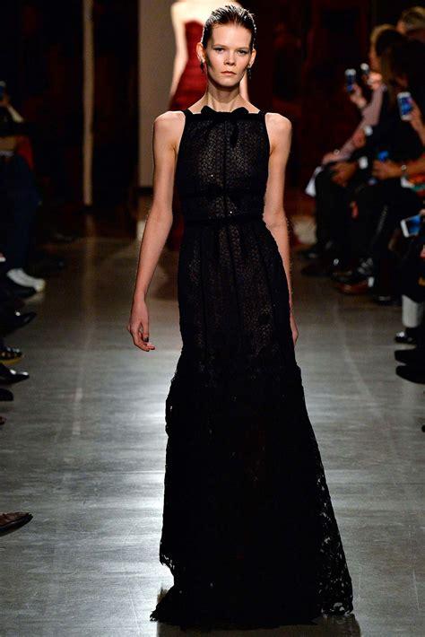 Catwalk To Carpet In Oscar De La Renta by Miller Wears Oscar De La Renta Dress
