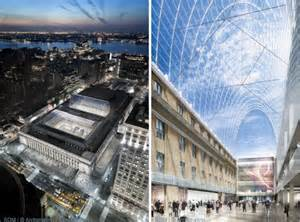 car rental penn station new york som redesigns nyc s penn station to include light filled
