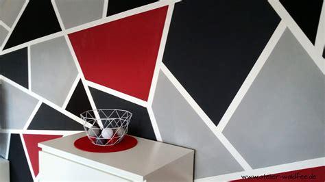 wanddesign im geometric  handmade kultur