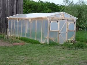 construire une serre de jardin en bois retour d exp 233 rience