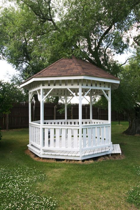 White Wooden Gazebo 32 Wooden Gazebos That Provide Rich Design And Comfortable